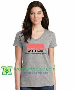 Style Pour Toujours Et A Jamais T Shirt gift tees adult unisex custom clothing Size S-3XL