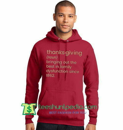 Thanksgiving Family Dysfunction Hoodie, Thanksgiving Pullover, Turkey Day, Chaos Hoodie Maker Cheap