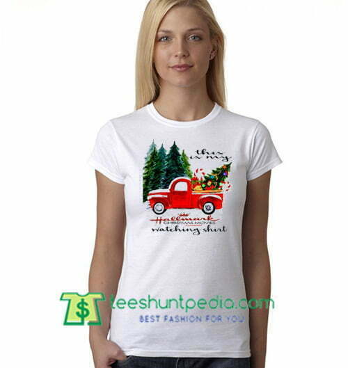 e578f6c6bd96 This Is My Hallmark Christmas Movie Watching T Shirt gift tees adult unisex  custom clothing Size S-3XL