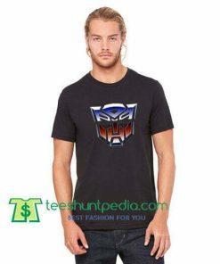 Transformers Autobots Classic Retro Animated Logo T Shirt gift tees adult unisex custom clothing Size S-3XL
