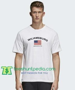 Wiliamsburg Brooklyn T Shirt gift tees adult unisex custom clothing Size S-3XL