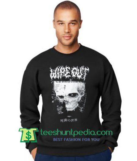 Wipe Out Demon Angel Sweatshirt Maker Cheap