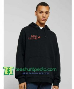 Baby Psycho Hoodie Maker Cheap