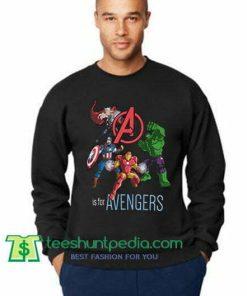 Avengers 4 (Hulk, Captain America, Thor, Iron man) Sweatshirt Maker Cheap