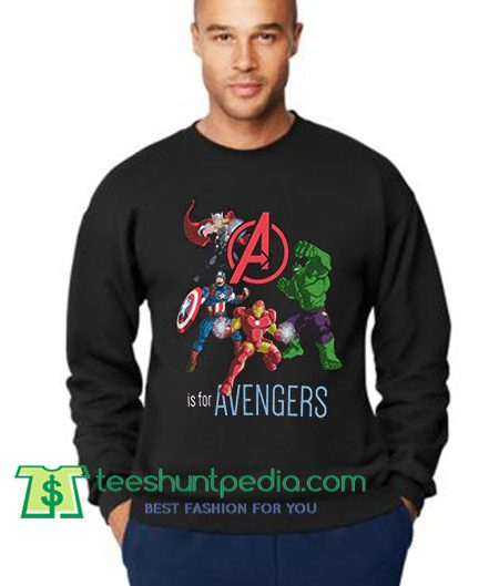 Avengers 4 (Hulk, Captain America, Thor, Iron man) Sweatshirt Maker Cheap