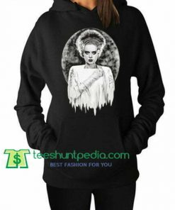 Bride of Frankenstein The Modern Prometheus Elsa Lanchester Hoodie Maker Cheap