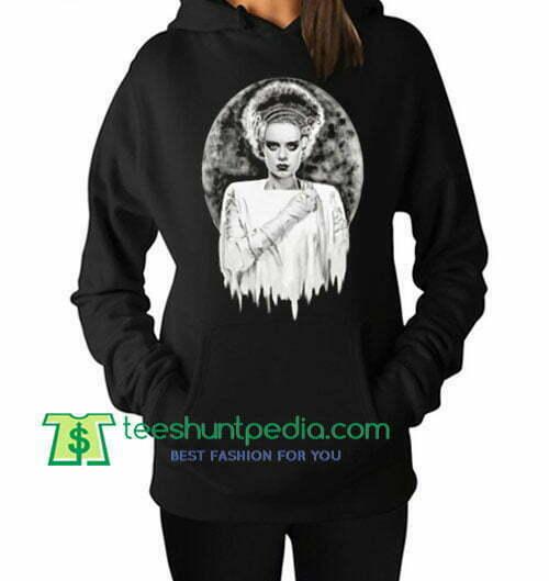 Bride of Frankenstein The Modern Prometheus Elsa Lanchester Hoodie Maker Cheap