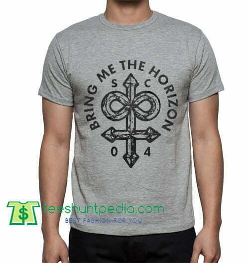 Bring Me the Horizon, T Shirt gift tees adult unisex custom clothing Size S-3XL