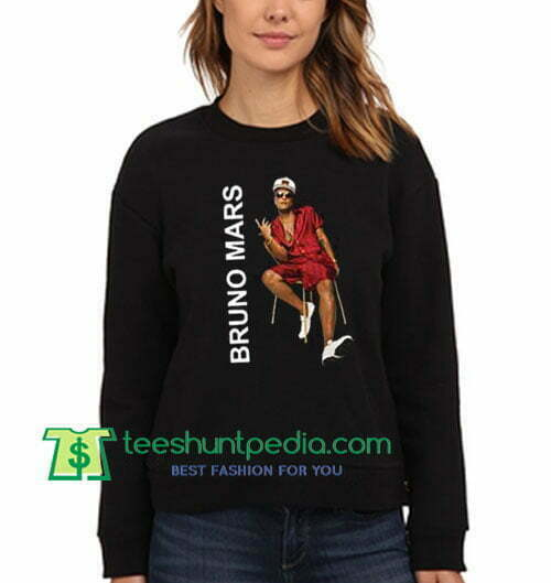 Bruno Mars Pop Music / Soft Rock Sweatshirt Maker Cheap
