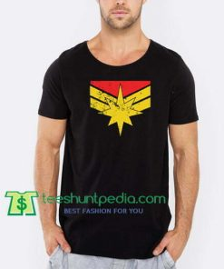 Captain Marvel T Shirt gift tees adult unisex custom clothing Size S-3XL