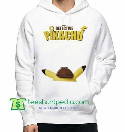 Pokemon, Detective Pikachu 2019 Movie Hoodie Maker Cheap