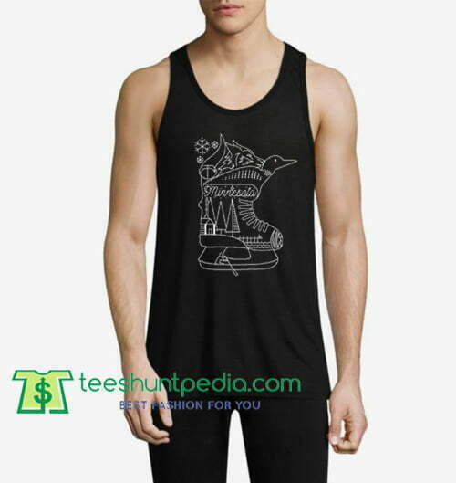 minnesota state tanktop gift shirt