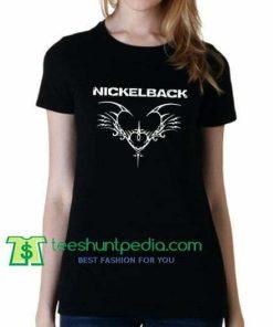 Nickelback Band Mask Tattoo, T Shirt gift tees adult unisex custom clothing Size S-3XL