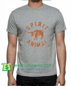 Texas Spirit Animal - Texas Football Inspired - T Shirt gift tees adult unisex custom clothing Size S-3X