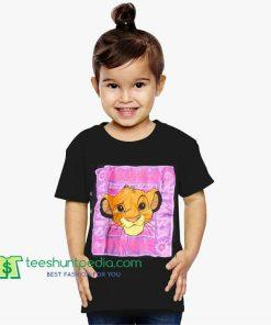 1994 Lion King Simba Vintage Youth Shirt Maker Cheap