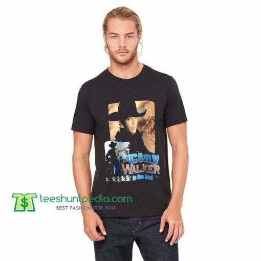 1995 clay walker vintage t-shirt