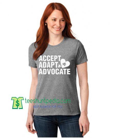Accept Adapt Advocate Autism Awareness Special