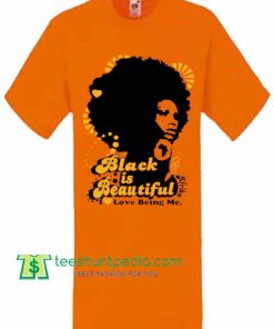 Black is Beautiful Orange, Girl's Unisex