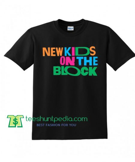 New Kids On The Block Shirt NKOTB Colorful Vintage