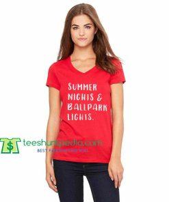 Summer Nights and Ballpark Lights Baseball