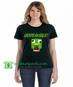 UNSPEAKABLE Minecraft Fan Unisex TShirt