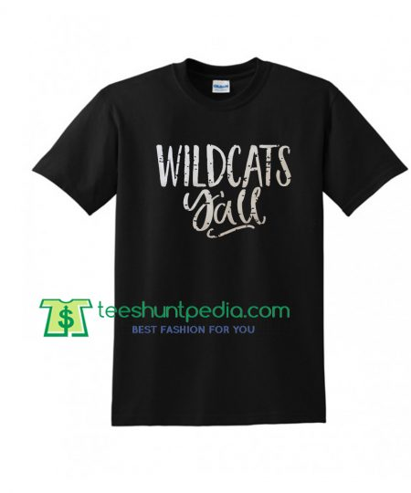Wildcats Yall Football Grunge Vintage