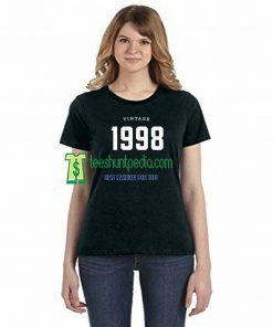 21st Birthday Vintage 1998 Adult Unisex T-shirt Maker cheap
