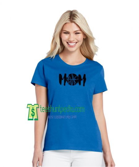 Basketball MOM Off Shoulder Tshirt Sport Mom Shirt Mothers Day Maker cheap