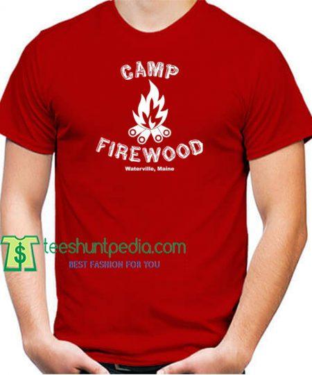 CAMP FIREWOOD Unisex Cotton T-Shirt