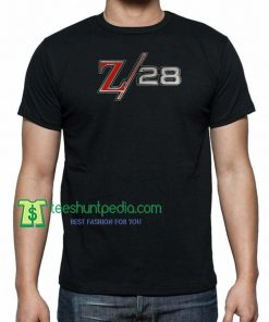 Chevrolet Camaro Z/28 Fender Badge Emblem Chevy Z28 TShirt Maker Cheap