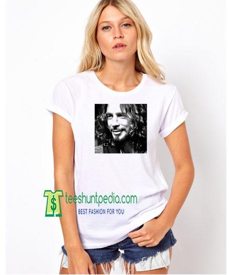 Chris Cornell Singer Musician Unisex Woman Shirt Maker Cheap