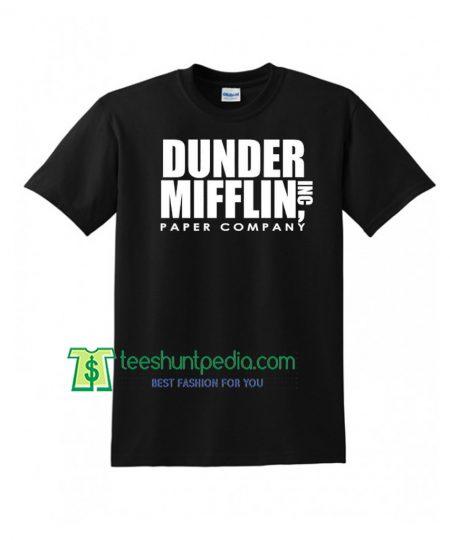 DUNDER MIFFLIN PAPER Inc Unisex TShirt Maker Cheap