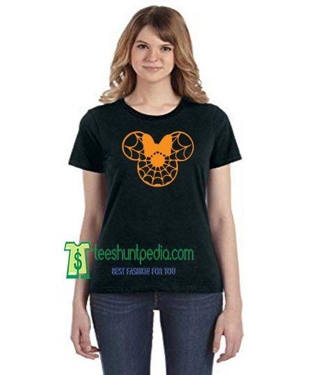Halloween Minnie T-Shirt Jack O Lantern Skull Day of Dead Skeleton Maker cheap