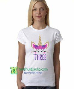 Gift for Girl Unicorn Birthday Unisex TShirt Maker Cheap