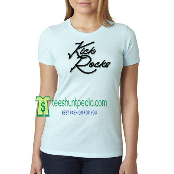 Kick Rocks Unisex T-Shirt High Desert auditor 1st amendment Maker Cheap