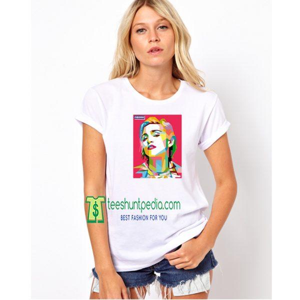 Madonna Graphics Art Madonna Singer Unisex TShirt Maker Cheap