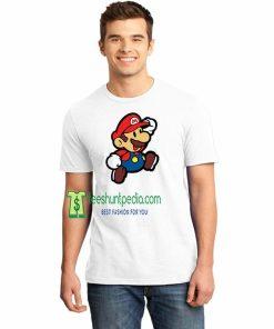 Super Mario Nintendo Adult Unisex Tshirt Maker cheap