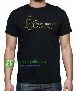 THC Healthcare Cannabis Medical Marijuana, Cannabis Weed T-shirt Maker Cheap