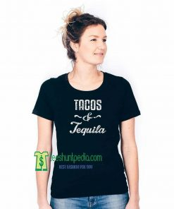Tacos and Tequila Shirts Off The Shoulder Shirt Taco Tuesday Maker cheap