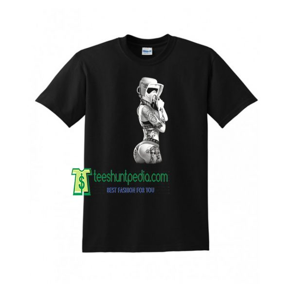 Tattoo Trooper - Ink Wars T-Shirt Cool Gift Idea for him S-XXXL Maker cheap
