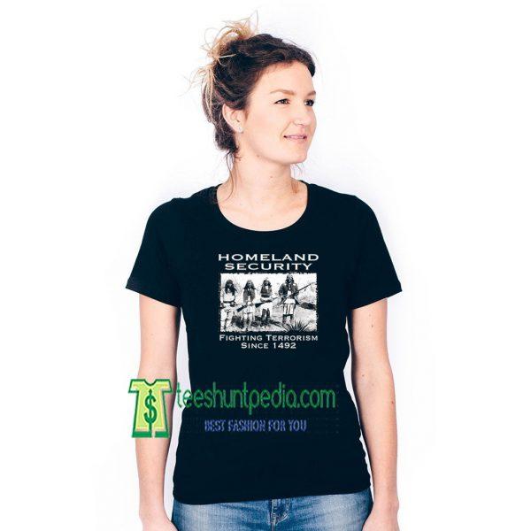 XtraFly Apparel Women's Homeland Security T-shirt Fighting Terrorism Maker cheap