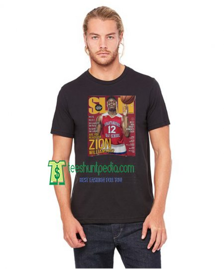 Zion Williamsion SLAM Cover Adult Unisex T-Shirt Maker cheap