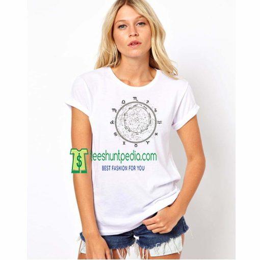 Zodiac Muscle Women Astrology Shirt Birth Sign Zodiac Maker cheap