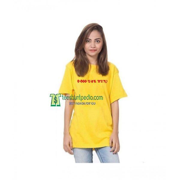 0 800 U Ok Hun Unisex adult T shirt Maker cheap