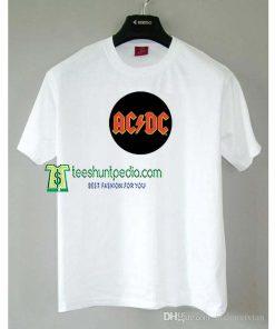 AC/DC Red Button Unisex Adult T-shirt Size XS-2XL Maker cheap