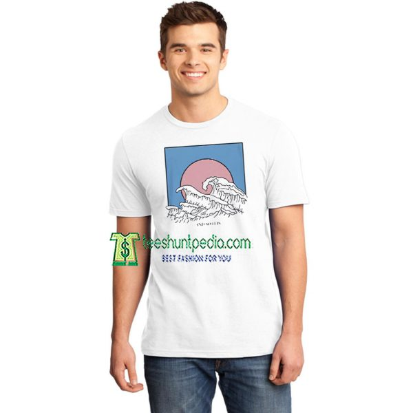 And So It Is Wave TShirt for Women's or Men's Maker cheap