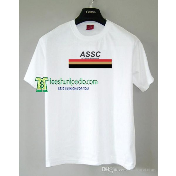 Anti Social Social Club ASSC Unisex Adult TShirt Maker cheap