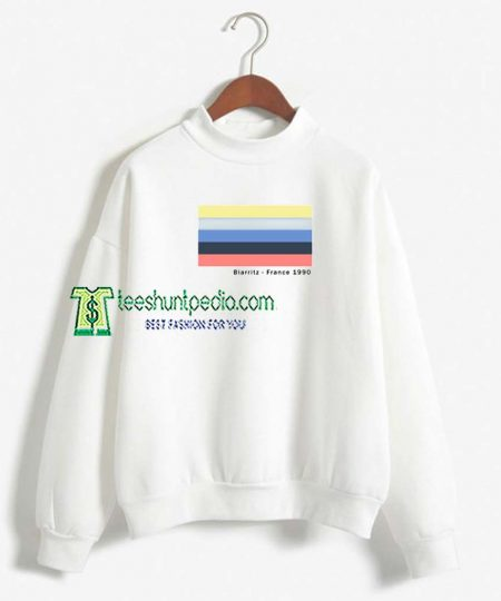 Biarritz France 1990 Unisex Sweatshirt Maker cheap