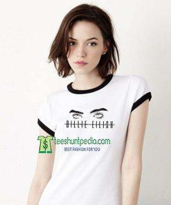 Billie Eilish Eyes Unisex Adult Tshirt Size XS-2XL Maker cheap