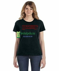 Bitchin Stranger Things text Inspired Adults Unisex Tshirt Maker cheap